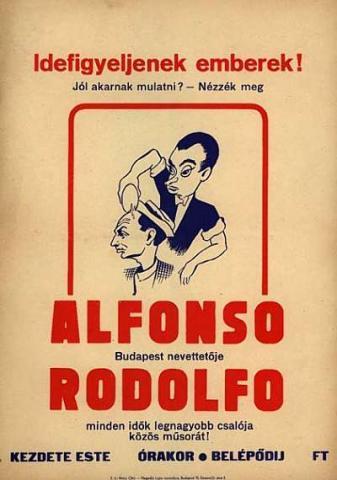 Rodolfo-Alfonso plakát