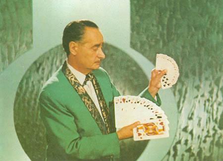 Rodolfo TV felvétel kártyatrükkel