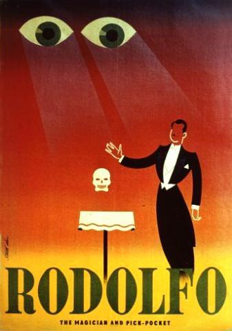 Rodolfo angol plakát