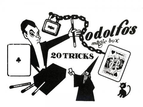 Rodolfo bűvésztáska 20 trükkel