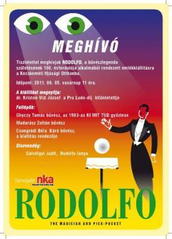 Rodolfo kiállítás plakátja
