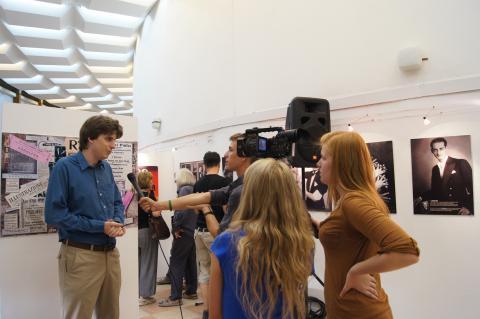 Rodolfo 100 kiállítás megnyitó műsor - Kelle Botond 3