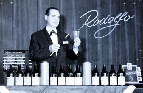Rodolfo üveg trükk